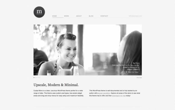 Cudazi Mono WordPress sablon