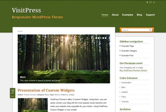 VisitPress WordPress sablon